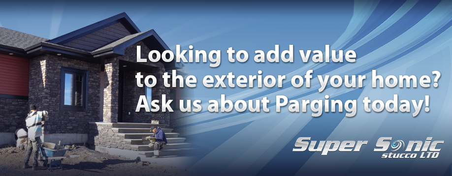 Looking to add value to the exterior of your home? Ask us about Parging today!